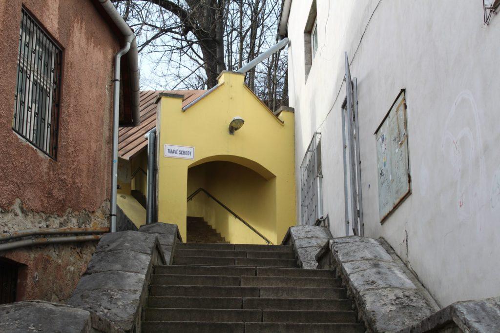 Ružomberské schody - Tmavé schody 01