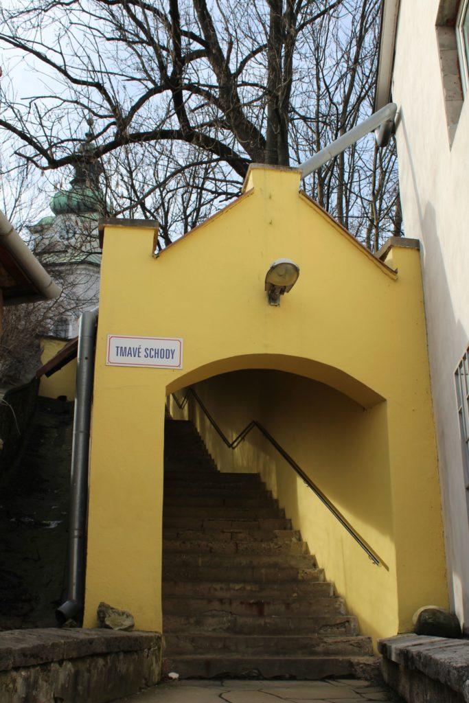 Ružomberské schody - Tmavé schody 04