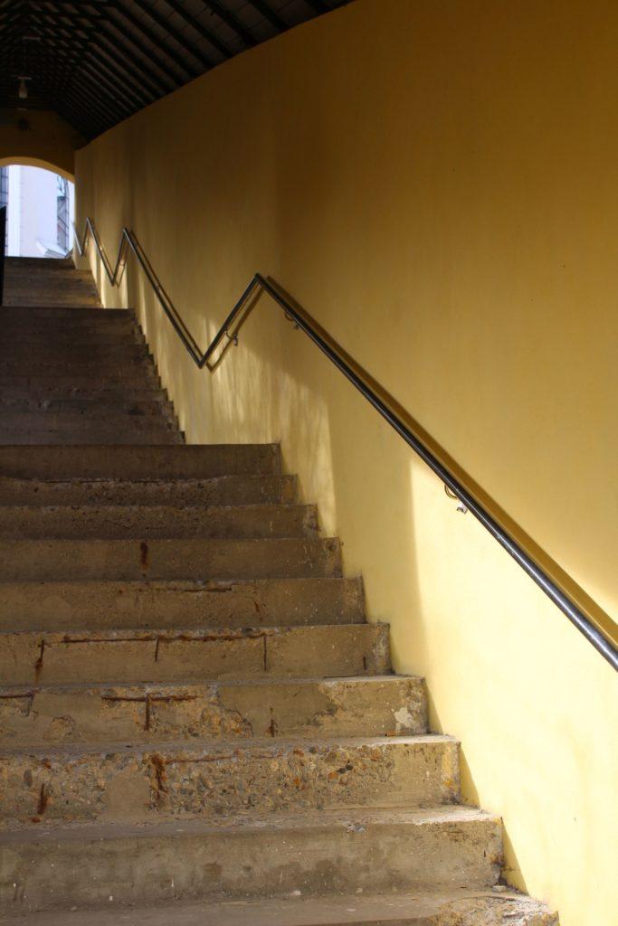 Ružomberské schody - Tmavé schody 05