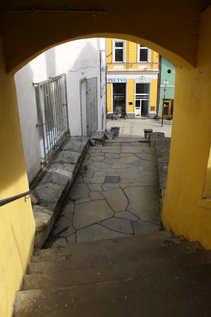 Ružomberské schody - Tmavé schody 06