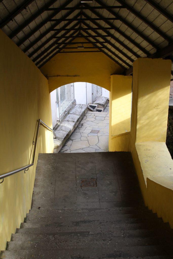 Ružomberské schody - Tmavé schody 07