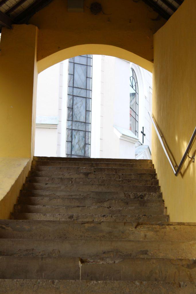 Ružomberské schody - Tmavé schody 08