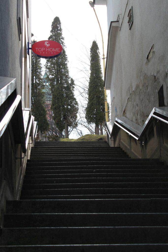 Ružomberské schody - schody na Mostovej ulici 03