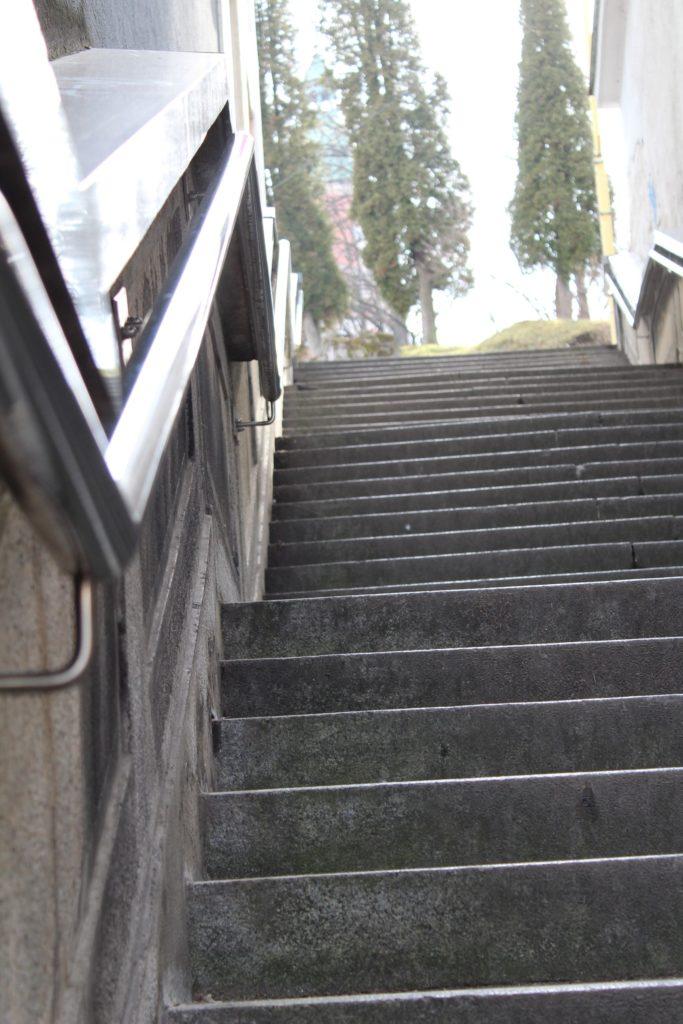 Ružomberské schody - schody na Mostovej ulici 04