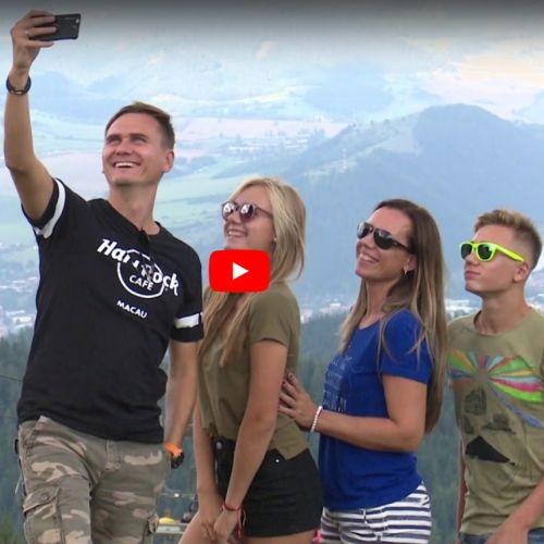 Video, na ktorom sa vám v krátkosti predstaví mesto Ružomberok a jeho blízke okolie.