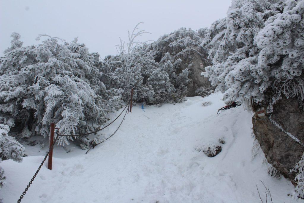 Na Veľký Choč v zime 11