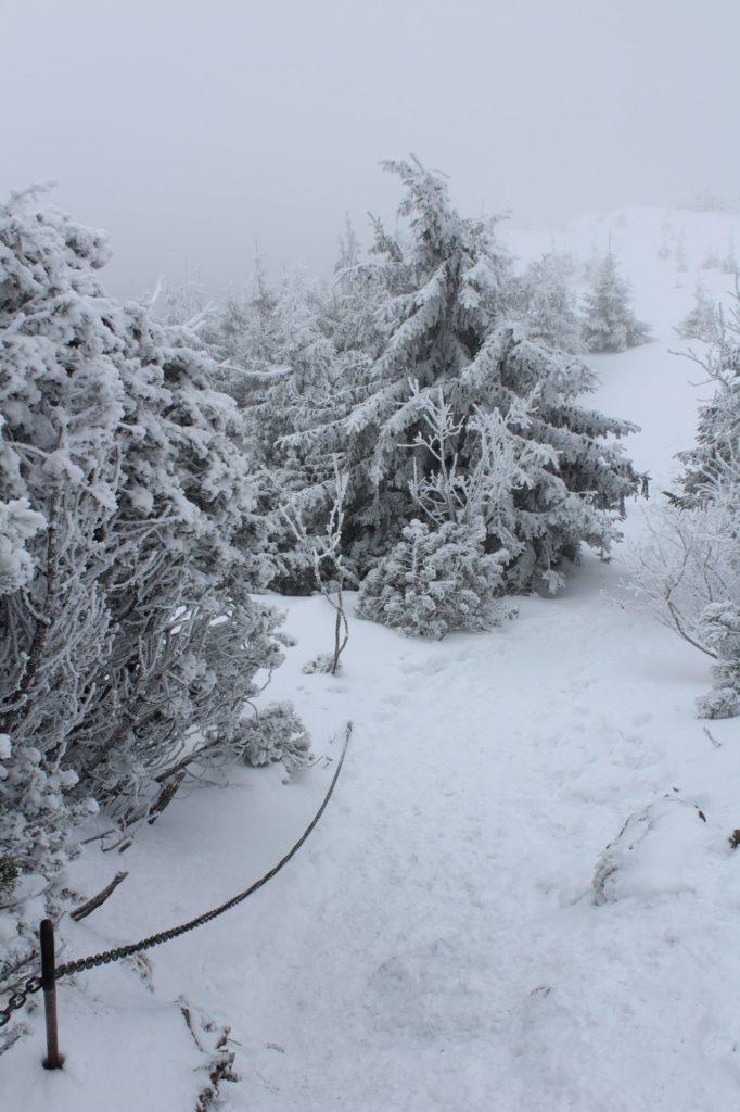 Na Veľký Choč v zime 12
