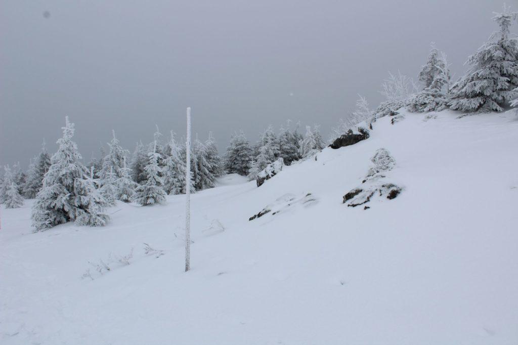 Na Veľký Choč v zime 14