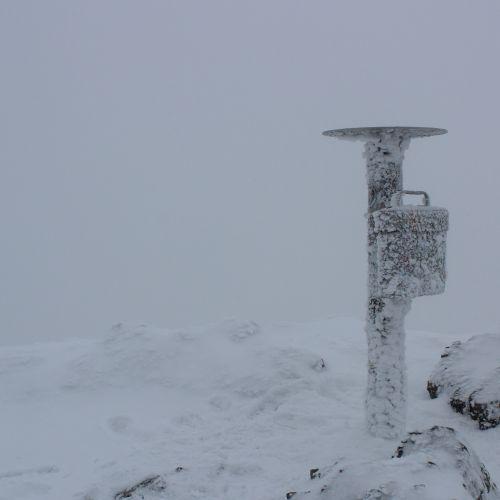 Na Veľký Choč v zime