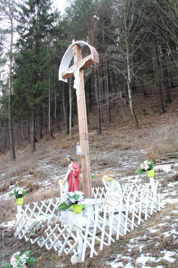 Kríž Černová, Opaliny pri Salaši Krajinka 01