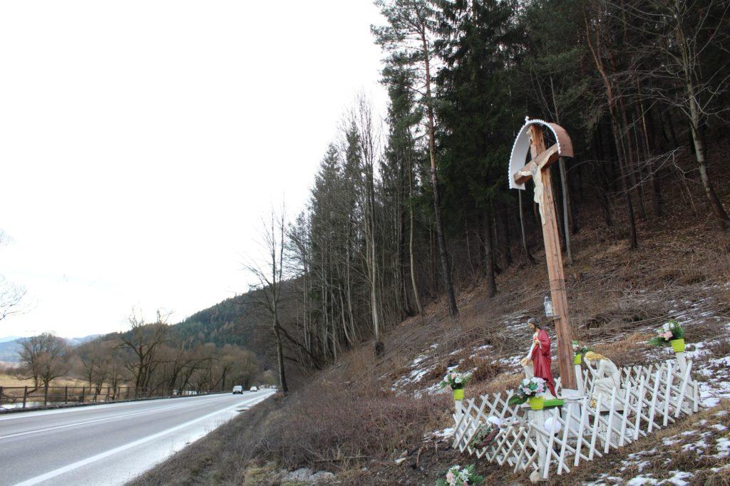 Kríž Černová, Opaliny pri Salaši Krajinka 02