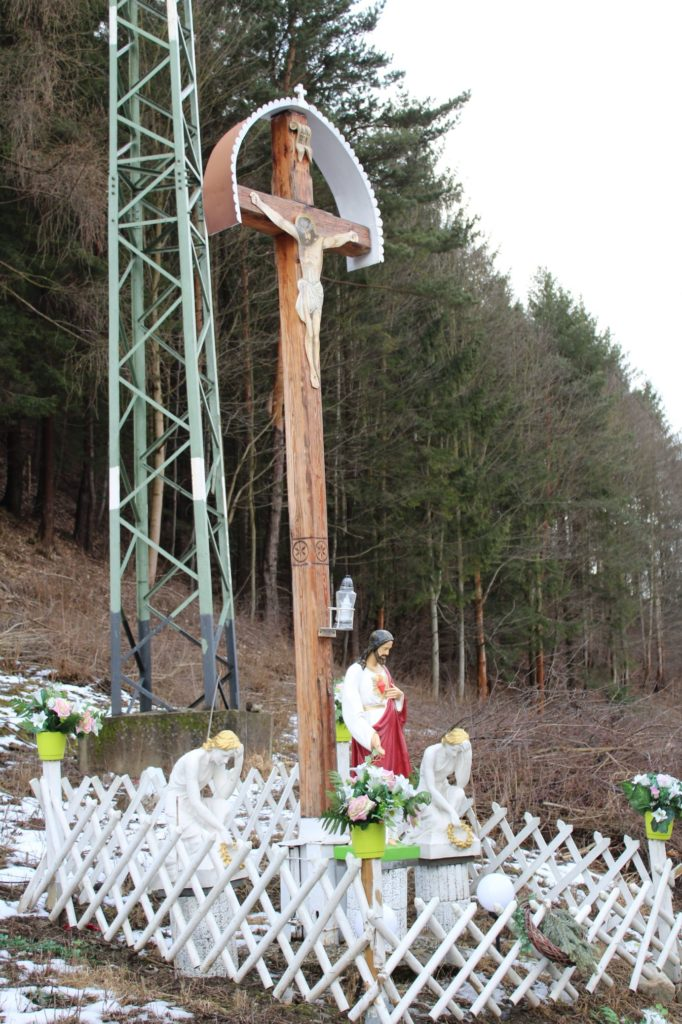 Kríž Černová, Opaliny pri Salaši Krajinka 06