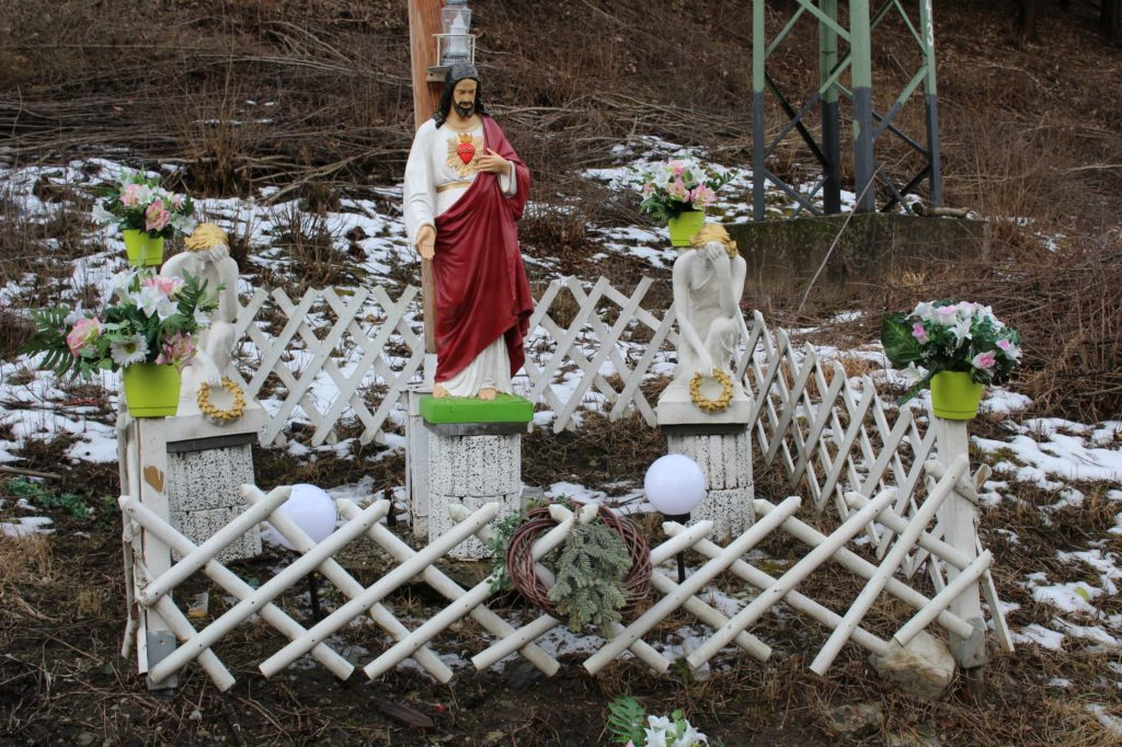 Kríž Černová, Opaliny pri Salaši Krajinka 07