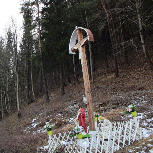 Kríž Černová, Opaliny pri Salaši Krajinka