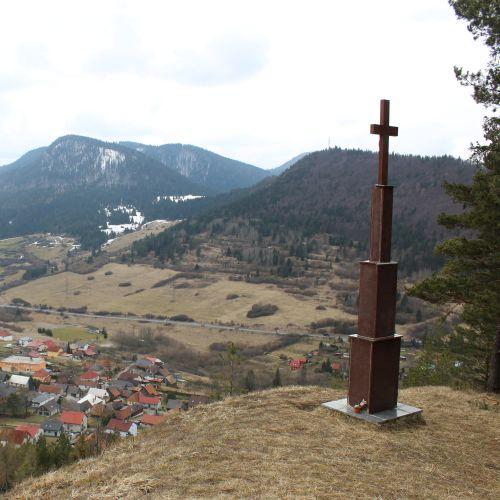 Kríž Jána Pavla II. Valaská Dubová