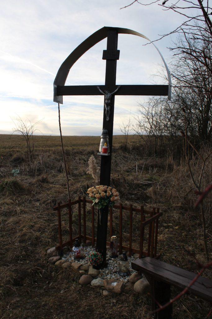 Kríž Liptovské Sliače - Nižný, Hrádok 01