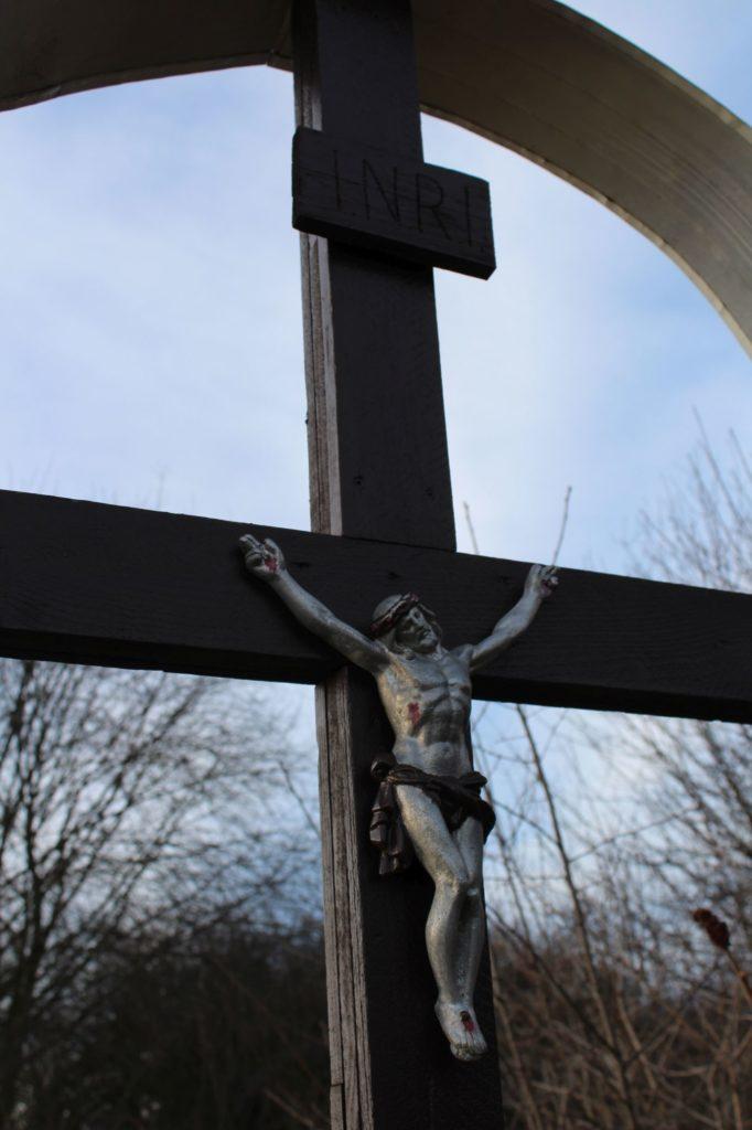 Kríž Liptovské Sliače - Nižný, Hrádok 02