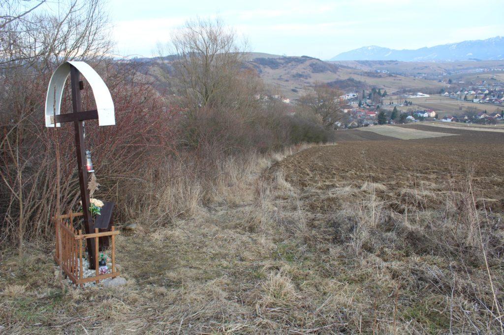 Kríž Liptovské Sliače - Nižný, Hrádok 05