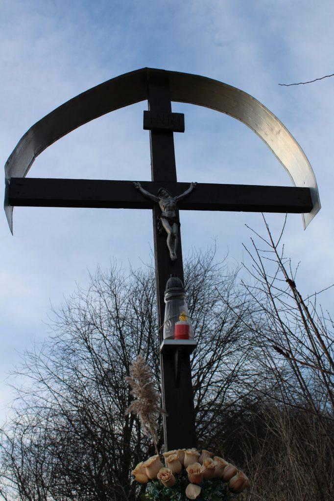 Kríž Liptovské Sliače - Nižný, Hrádok 07
