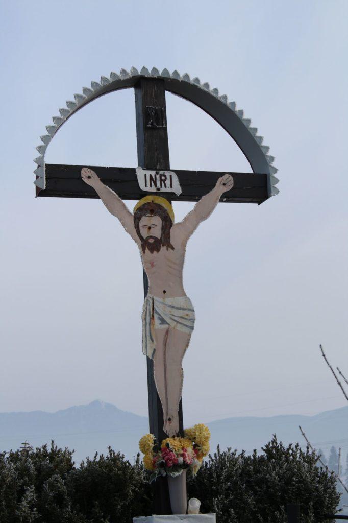 Kríž Liptovské Sliače - Vyšný, Skálie 03