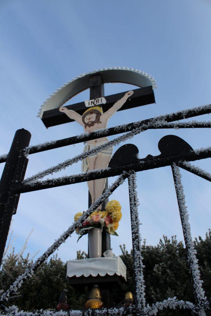 Kríž Liptovské Sliače - Vyšný, Skálie 05