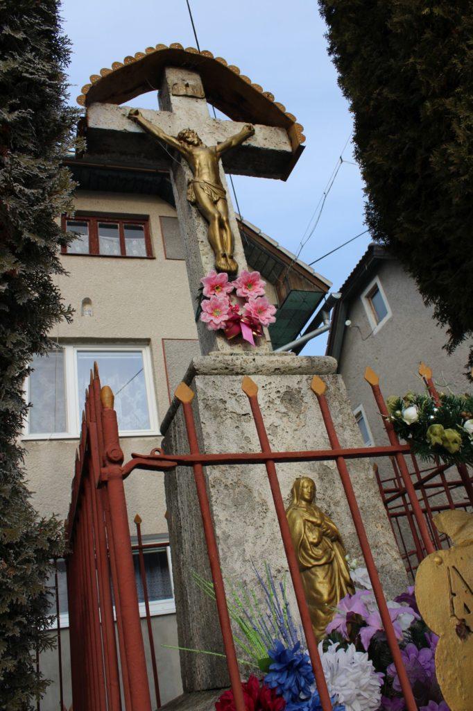Kríž Liptovské Sliače - Vyšný, ulica Stupy 01