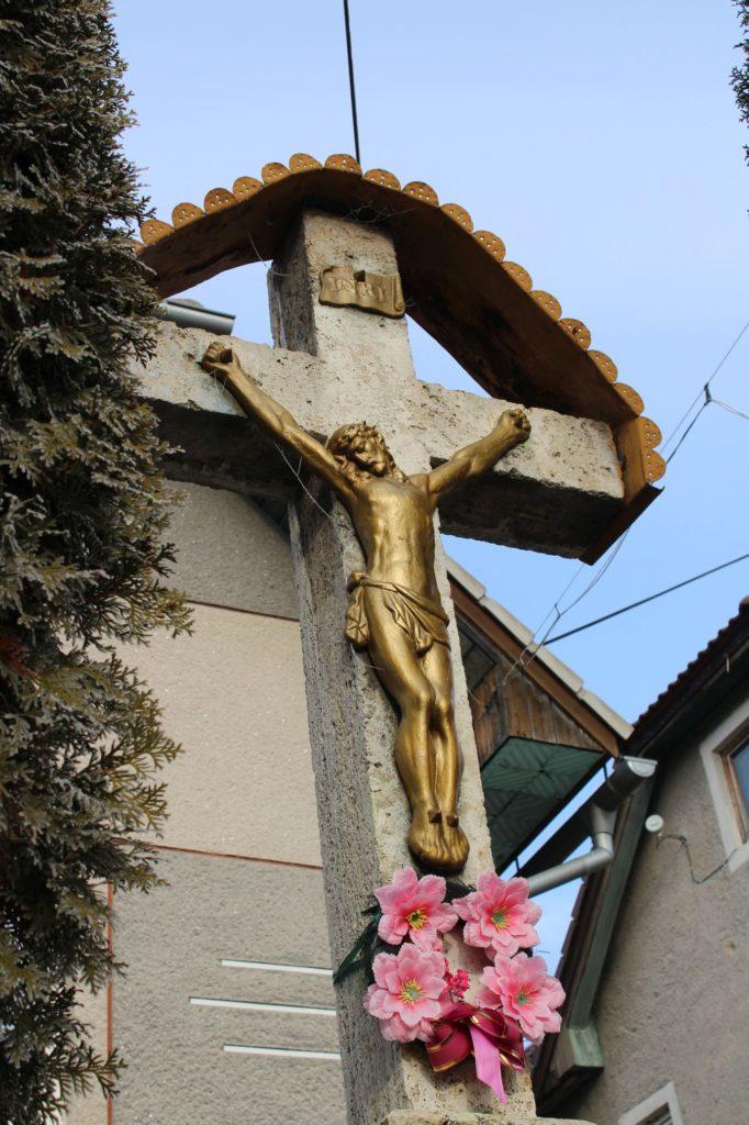 Kríž Liptovské Sliače - Vyšný, ulica Stupy 03