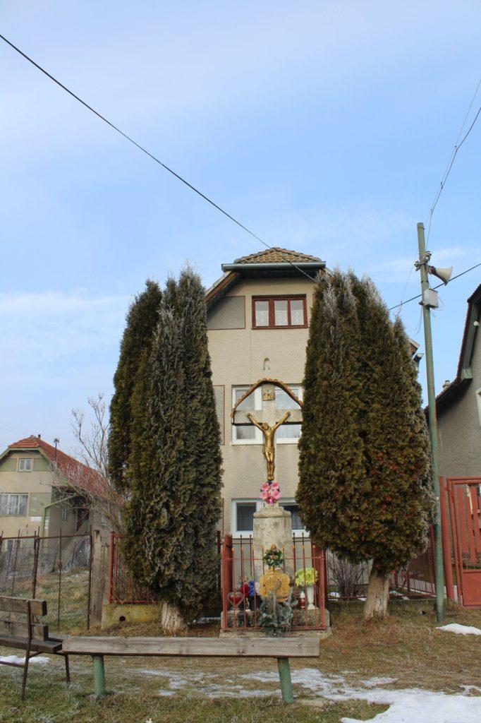Kríž Liptovské Sliače - Vyšný, ulica Stupy 05