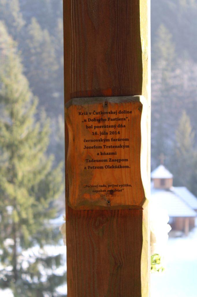 Kríž Nová Černová, areál u Dobrého pastiera 04