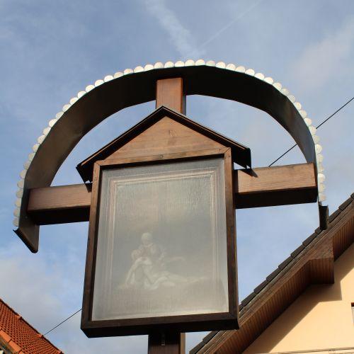 Kríž Nová Černová, ulica Pri Váhu