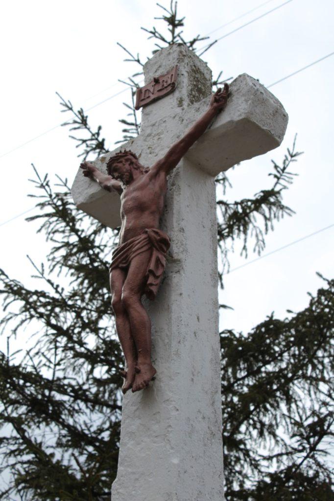 Kríž Valaská Dubová, sedlo Brestová 01