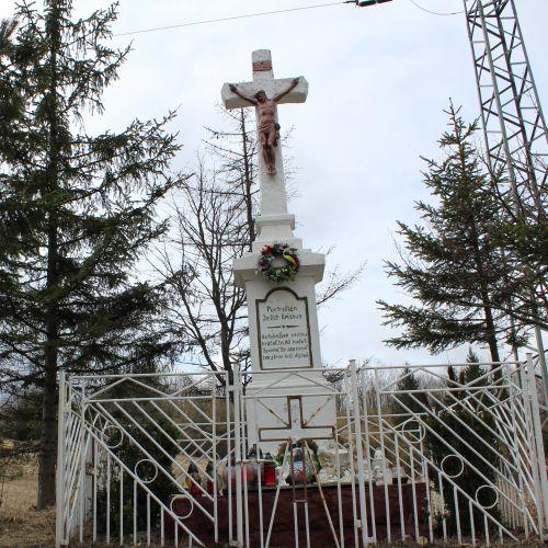 Kríž Valaská Dubová, sedlo Brestová