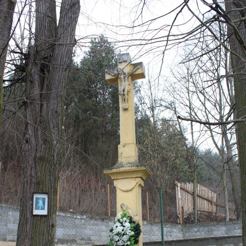 Cross by the mill in Hrboltová