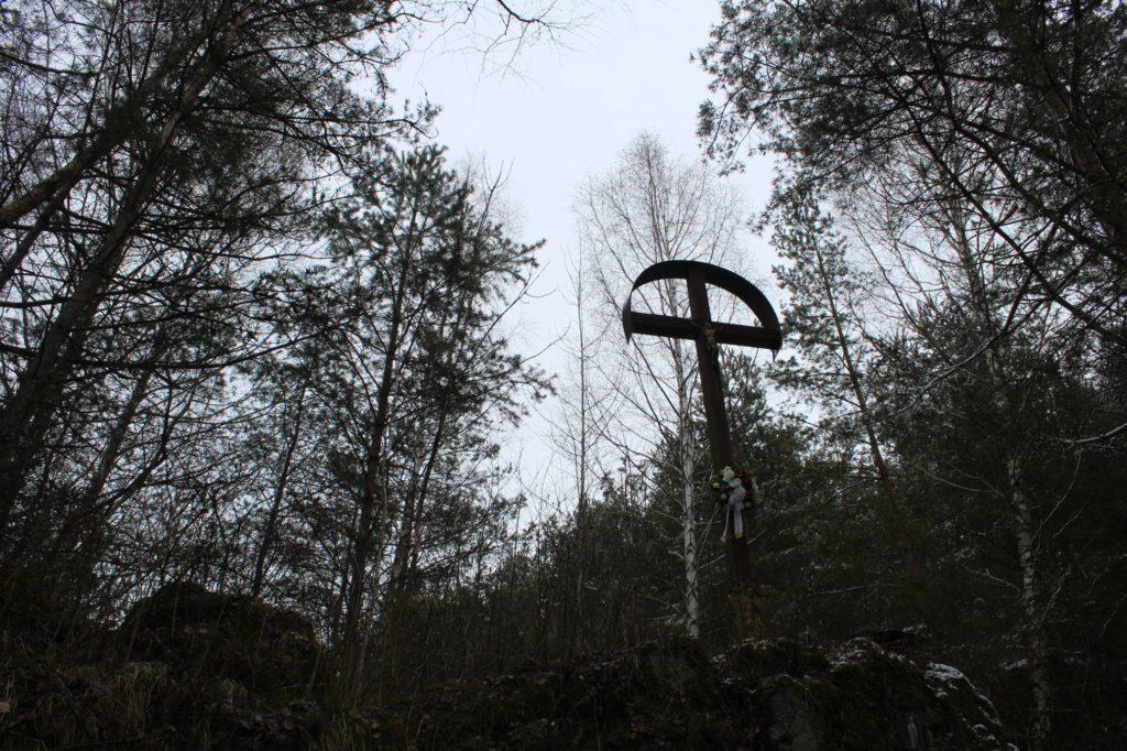 Kríž v lesoparku Hrboltová 07