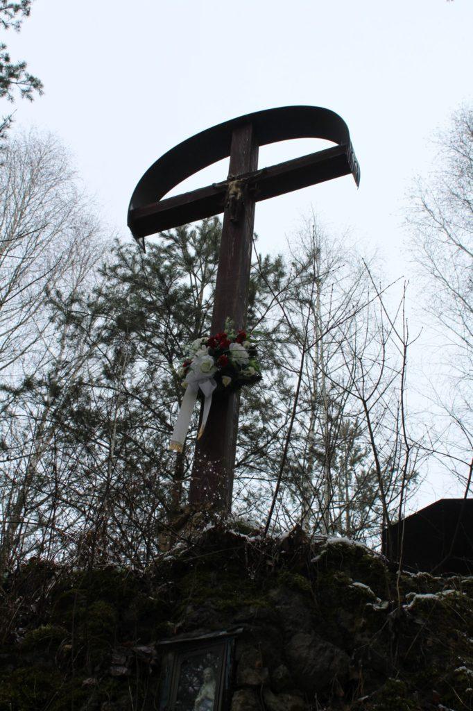 Kríž v lesoparku Hrboltová 08