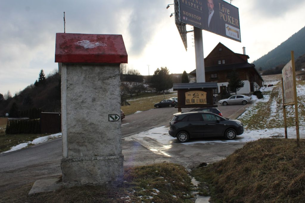 Kaplnka Likavka, križovatka J. Hollého - Pod Hradom 05