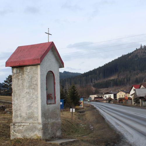 Chapel of Likavka, at the intersection of J. Hollého – Pod Hradom