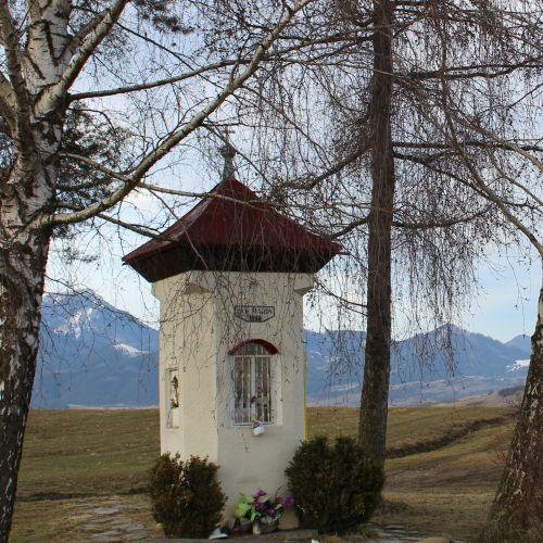 """Chapel of Liptovská Štiavnica, in """"Pri božej muke"""""""