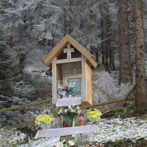 Chapel of Liptovské Sliače – Stredný, mouth of the Sliačska Valley