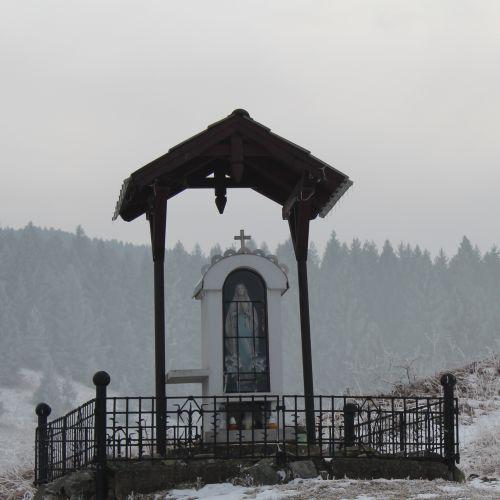 Chapel of Liptovské Sliače – Stredný, above Medokýš