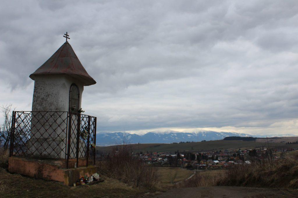 Kaplnka Liptovské Sliače - Vyšný, sedlo Čertovica 06