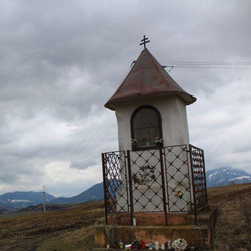 Kaplnka Liptovské Sliače – Vyšný, sedlo Čertovica