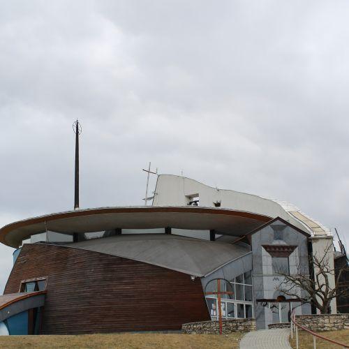 Church of Two Hearts in Liptovské Sliače