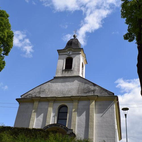 Church of the Exaltation of the Holy Cross in Hubová