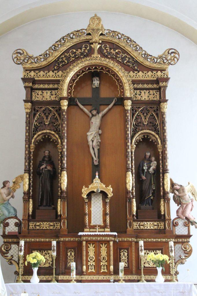 Kostol Povýšenia sv. Kríža v Lúčkach 08