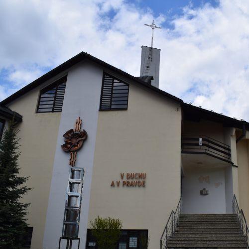 Church of Our Lady of Sorrows in Švošov
