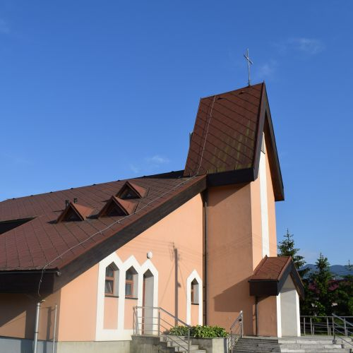 Church of the Holy Family in Štiavnička