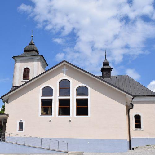 Church of Abbot St. Gál in Komjatná