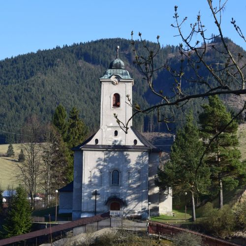 All Saints Church in Ludrová
