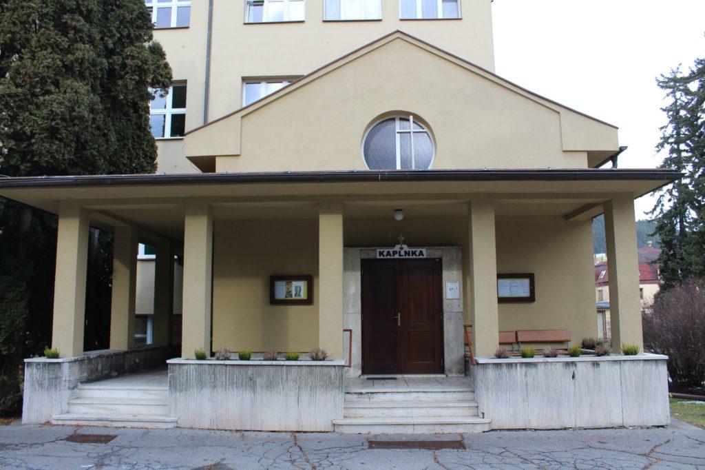 Nemocničná kaplnka Ružomberok, ulica Genenerála Miloša Vesela 02